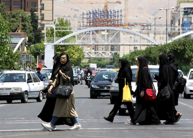 A Téhéran, le 15 juin.