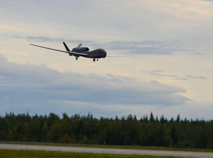 Un RQ-4 Global Hawk, le type de drone détruit par l'Iran, le 20 juin.