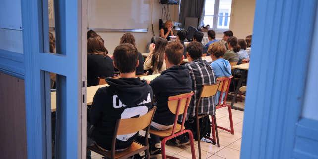 Elèves dans un lycée de Nantes, en 2012.