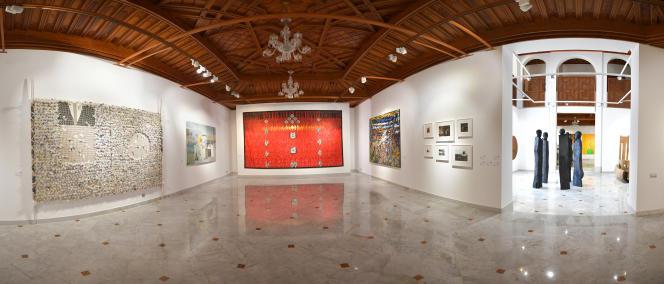 L'exposition« Prête-moi ton rêve» à laquelle ont participé 28 artistes africains, à Casablanca, au Maroc, en juin 2019.