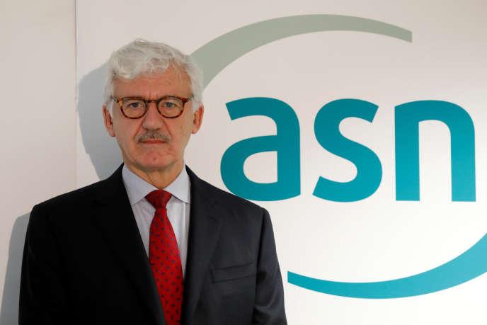 Bernard Doroszczuk, président de l'Autorité de sûreté nucléaire, à Paris, fin janvier.