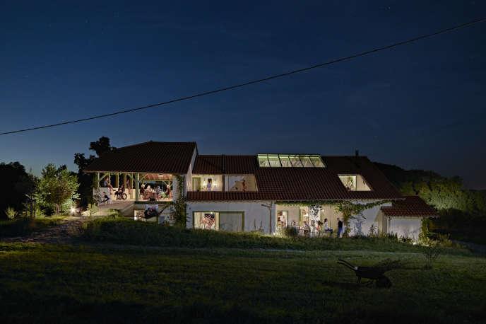 La maison Hourré, dans le Béarn, conçue par l'architecteAnna Chavepayre (collectif Encore).