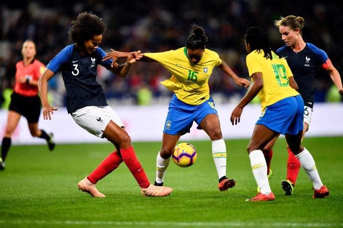 Les Bleues n'ont jamais perdu contre le Brésil.