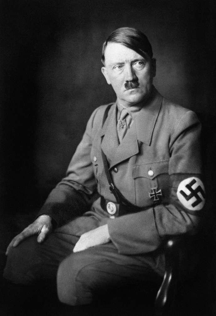 Le chancelier de l'Allemagne nazie Adolf Hitler en 1938.