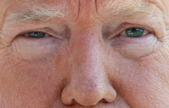 Le président américain, Donald Trump, donne une conférence de presse le 22 juin à la Maison Blanche.