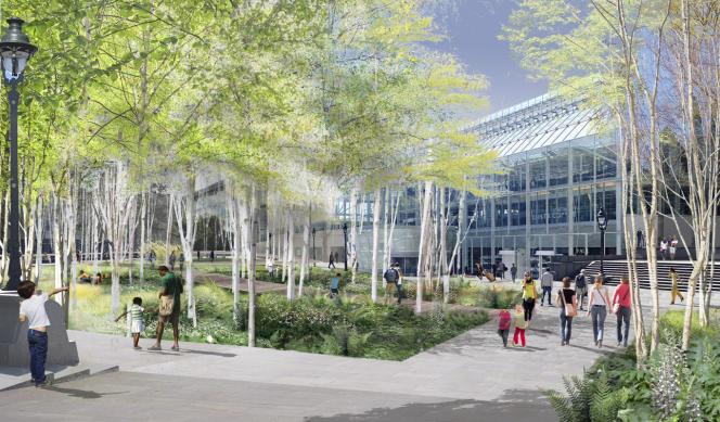 Le futur parvis de la gare de Lyon.