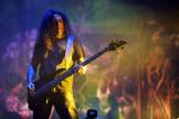 Tom Araya, chanteur et bassiste de Slayer, le 23 juin au Hellfest.