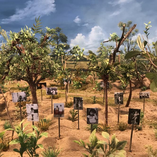 Photo extraite du documentaire, «Les Tombeaux sans noms», de Rithy Panh.