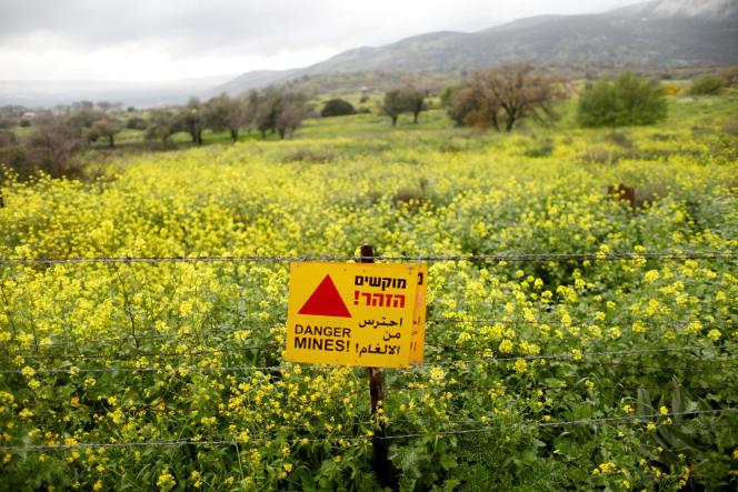 Le plateau du Golan aurait été la cible d'attaques de l'aviation israélienne le 24juillet.