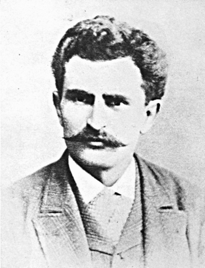 L'anarchiste italien Errico Malatesta, vers 1890.