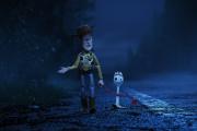 Woody et Fourchette, deux des héros de « Toy Story 4 ».