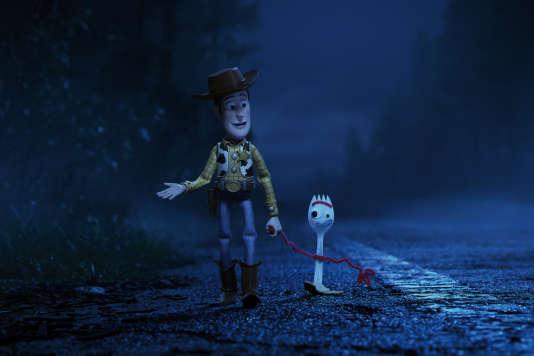 Woody et Fourchette, deux des héros de «Toy Story 4».