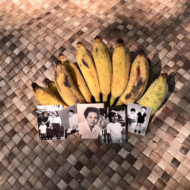 Photos de membres de la famille de Rithy Panh, victimes des Khmers rouges au Cambodge, dans son documentaire «Les Tombeaux sans noms».