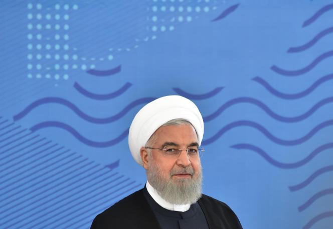 Le président iranien, Hassan Rohani, le 14 juin 2019.