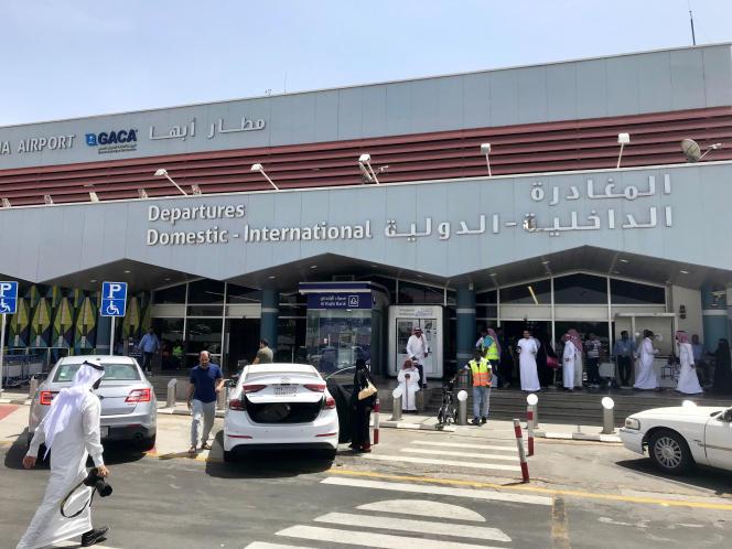 L'aéroport d'Abha le 24 juin.