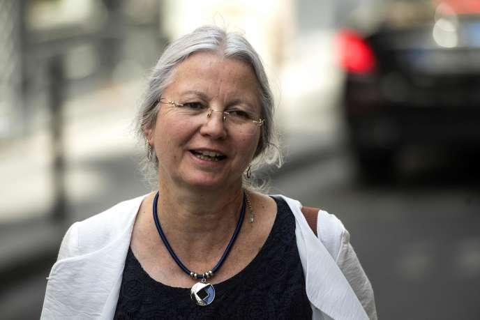 La députée de l'Oise Agnès Thill, le 25 juin à Paris.