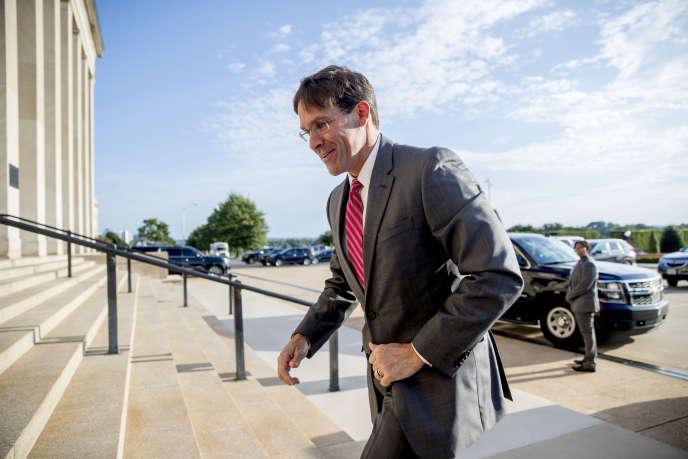 le nouveau secrétaire d'Etat à la défense américain, Mark Esper, le 24 juin 2019 à Washington.