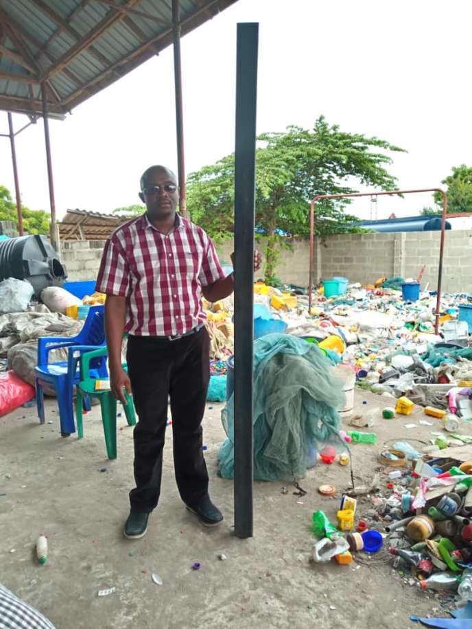 Christian Mwijage, fondateurde la start-up EcoAct.
