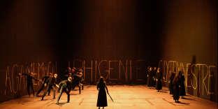 «Iphigénie en Tauride», de Gluck, dans une mise en scène de Robert Carsen.
