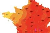 Prévision météorologique pour la journée de lundi 24 juin.