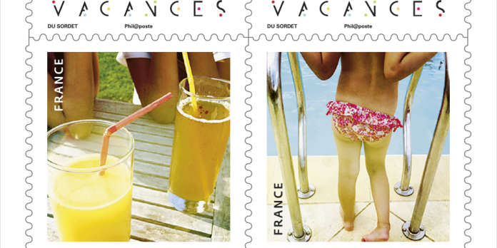 Voici les timbres de l'été