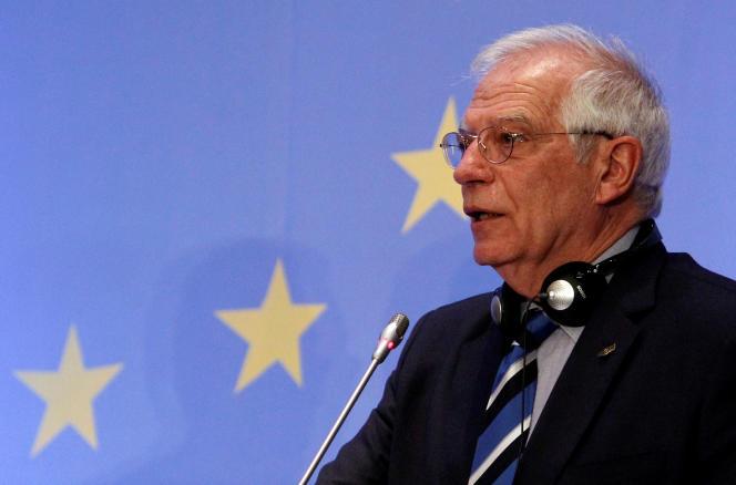 Josep Borrell, à Chypre, le 29 janvier.