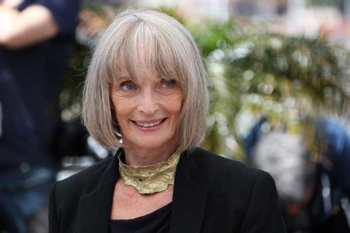 Edith Scob, lors de la présentation de «Holy Motors» au 65ème festival de Cannes à Cannes, le 23 mai 2012.