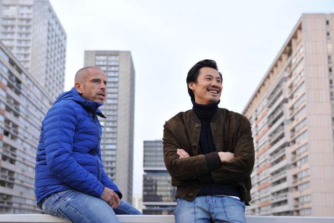 Frédéric Chau (à droite) et Medi Sadoun (à gauche) dans« Made in China».