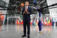 Le secrétaire général de l'OTAN, Jens Stoltenberg, a donné une conférence de presse à Bruxelles, le mercredi 26 juin.