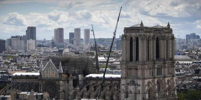 Six mois après l'incendie de Notre-Dame, les autorités se veulent rassurantes