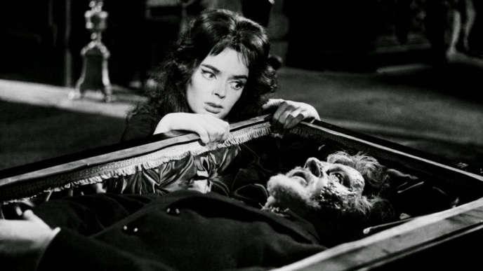 Barbara Steele dans «Le Masque du démon» (1960), de Mario Bava.