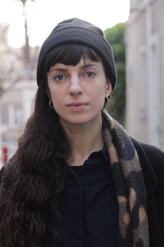 La chorégraphe française Nina Santes, en 2019.