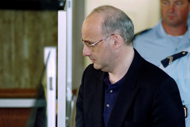 Jean-Claude Romand lors de son procès, le 25 juin 1996.