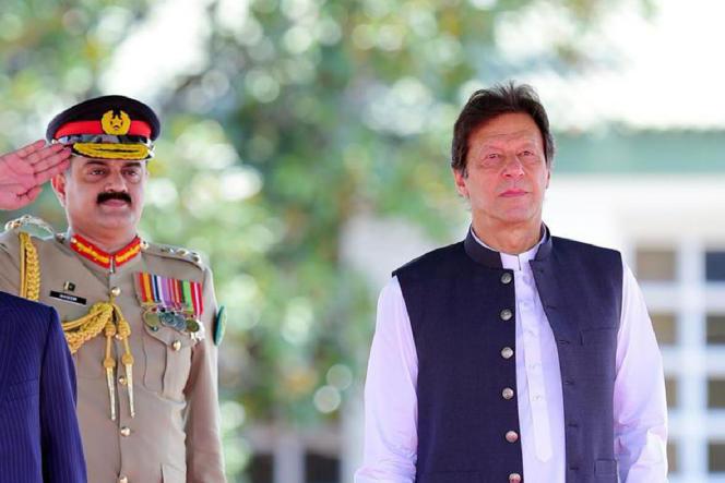 Imran Khan, le 27 juin à Islamabad.