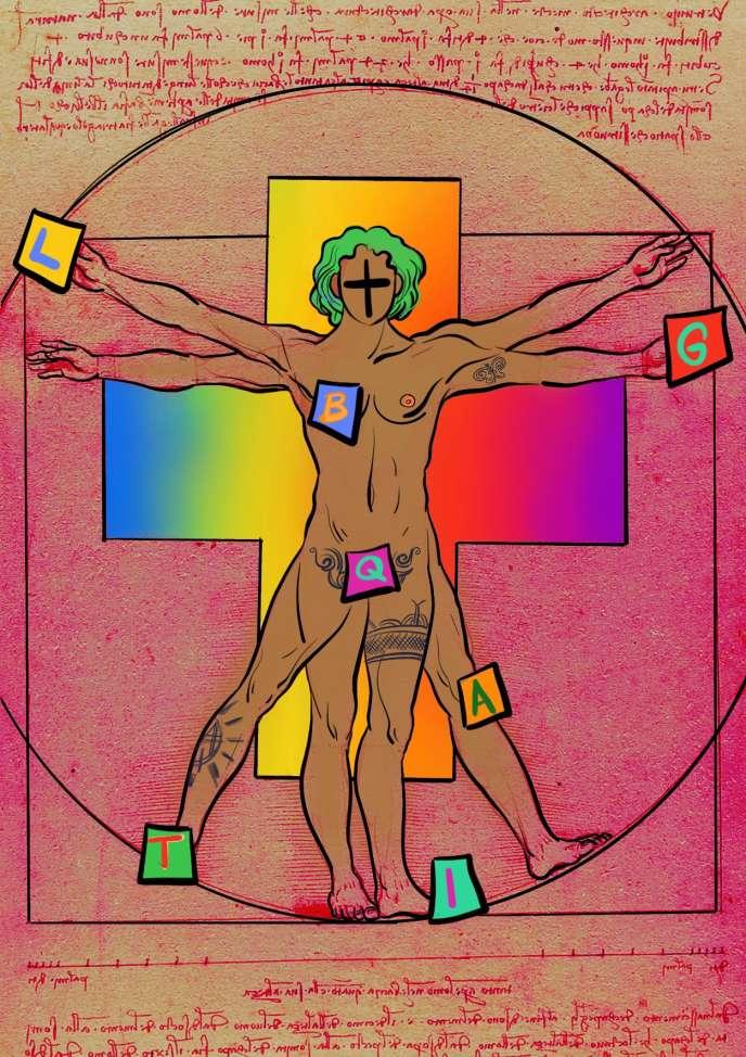 «Tout ce qu'on nous demande en ajoutant des lettres aux LGBTQIA+, c'est d'essayer d'inclure. C'est notamment à cela que sert le + final. »
