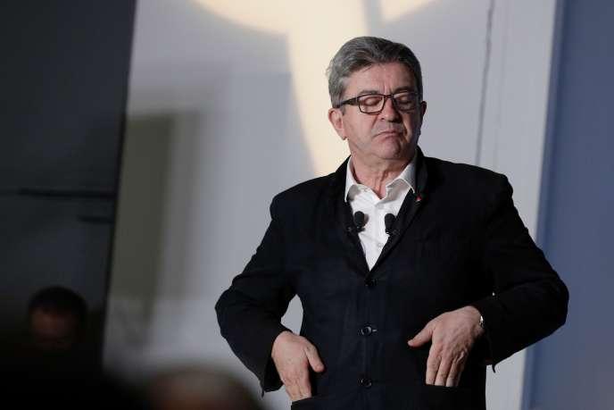 Jean-Luc Mélenchon, à Paris, le 23 juin.