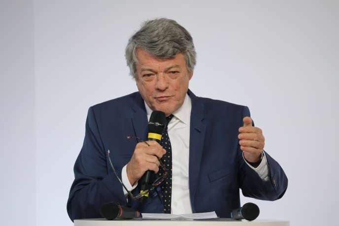 Jean-Louis Borloo, à Paris en mai 2018.