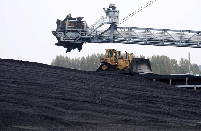 La centrale à charbon de Cordemais (Loire-Atlantique), en octobre 2018.