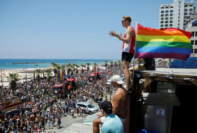 A Tel-Aviv, en Israël, le 14 juin.