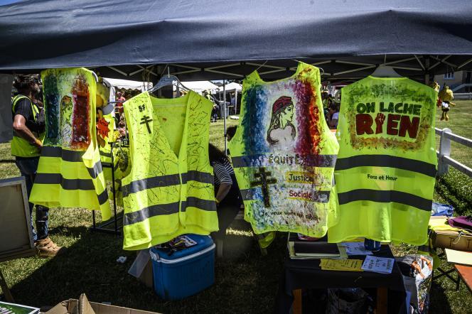 Quelque 600 « gilets jaunes » se retrouvent samedi et dimanche à Montceau-les-Mines pour leur troisième « Assemblée des assemblées ».