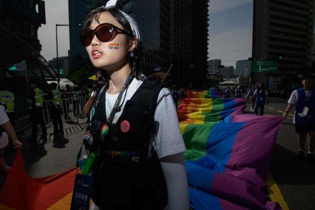 A Séoul, en Corée du Sud, le 1er juin.
