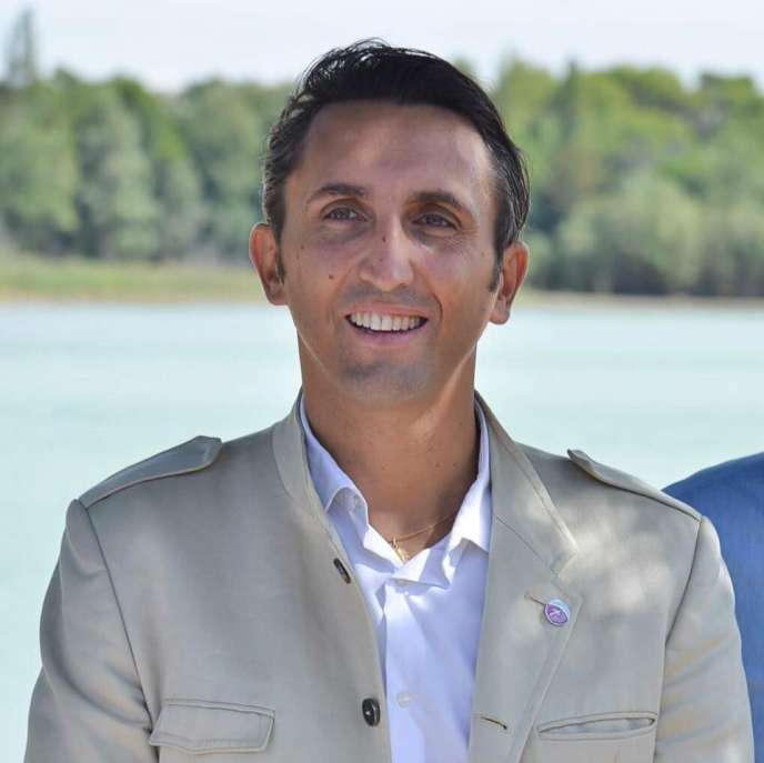 Le député du Vaucluse Julien Aubert, en 2017.