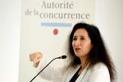 Isabelle de Silva, présidente de l'Autorité de la concurrence, le 3 juillet 2017 à Paris.
