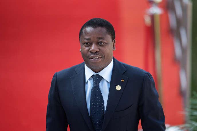 Le président togolais Faure Gnassingbé est au pouvoir depuis 2005. Ici, à Pretoria, en Afrique du Sud, le 25 mai 2019.