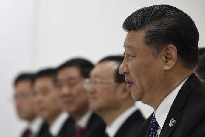 Le président chinois Xi Jinping lors du sommet du G20 à Osaka, au Japon, le 29 juin 2019.
