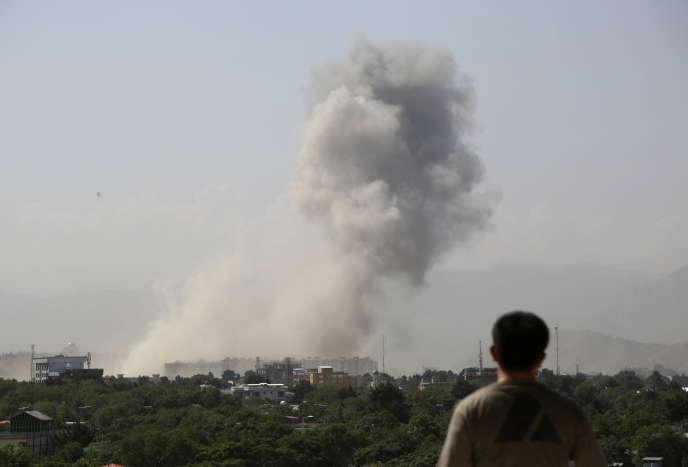 Attaque sur Kaboul, le 1er juillet.