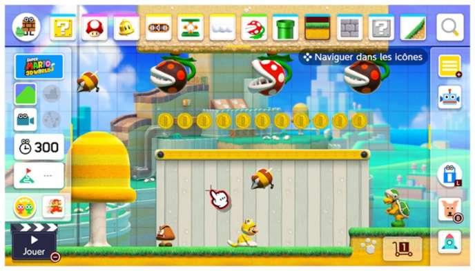 Jeu Vidéo Super Mario Maker 2 Le Mario Bricolo Qui
