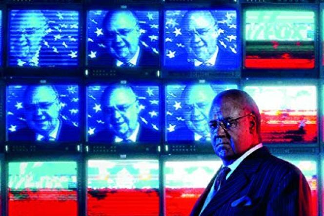 Russel Crowe interprèteRoger Ailes, patron historique de la chaîne conservatrice Fox News, dans la série« The Loudest Voice».