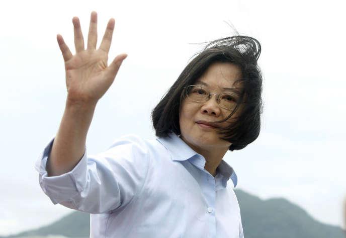 La présidente taïwanaise Tsai Ing-wen, le 4 mai à Taipei.