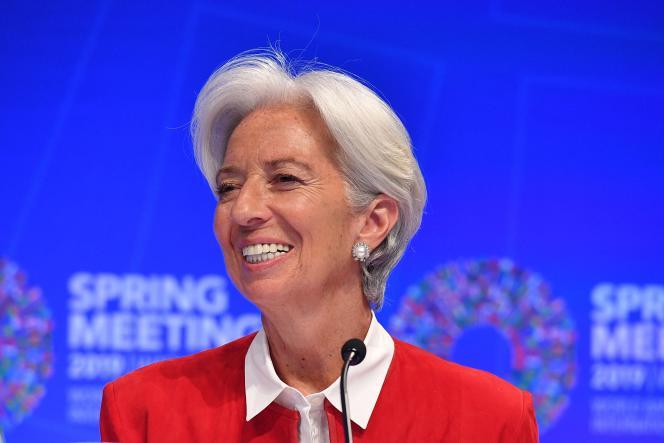 Christine Lagarde, actuellement à la tête du Fonds monétaire international, a été choisie pour diriger la Banque centrale européenne.